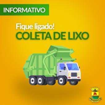 Prefeitura informa alterações na Coleta de Lixo