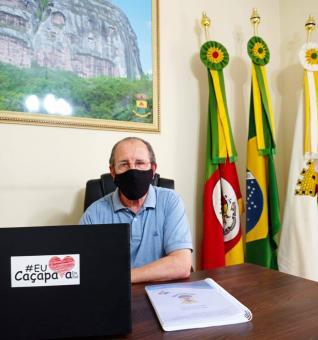 Luiz Guglielmin é prefeito em Exercício