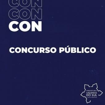 RS em Bandeira preta leva a suspensão das provas do concurso público de Caçapava do Sul
