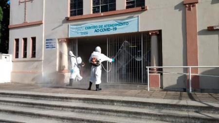 Secretarias Geral e Saúde redobraram suas ações de combate ao COVID-19de combate