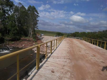 A nova Ponte do Lajeado beneficia grande região produtora de Caçapava do Sul.
