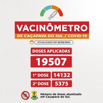 Vacinômetro de Caçapava do Sul 💉