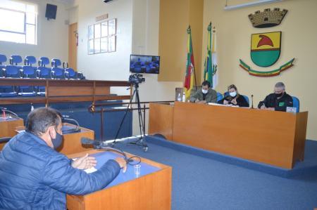 Vigilância Sanitária esclarece dúvidas da Comissão de Covid da Câmara