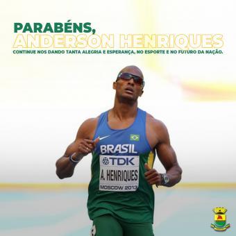 Equipe do Caçapavano Anderson Henriques bate o recorde sul-americano