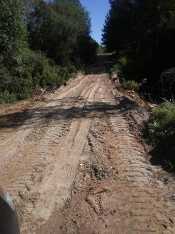 A Secretaria de obras informa que a ponte da Estrada do Salso já foi consertada