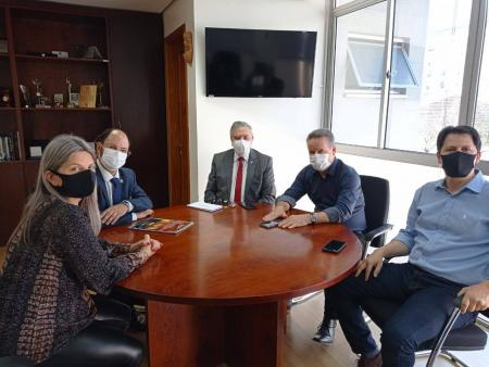 Prefeito Giovani Amestoy cumpre agenda em Porto Alegre